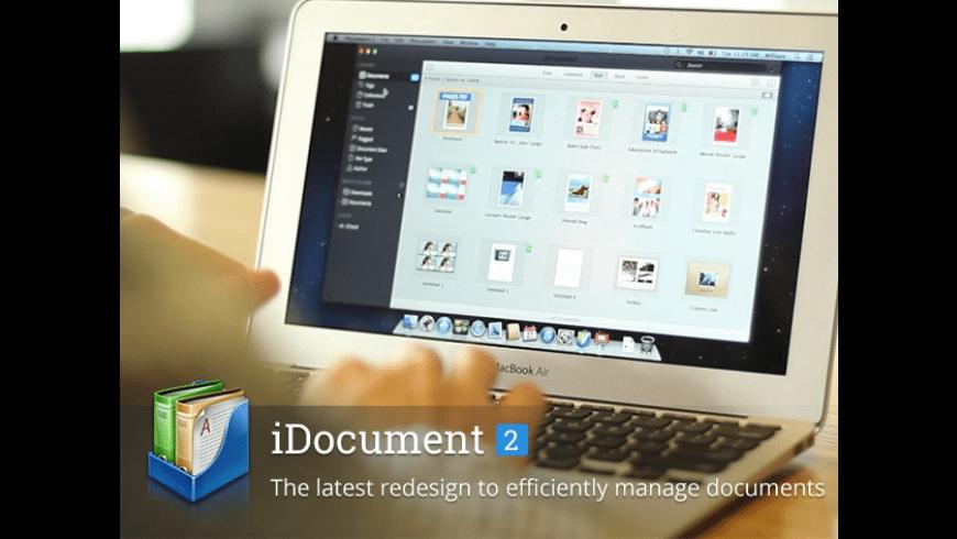 iDocument 2 for Mac - review, screenshots