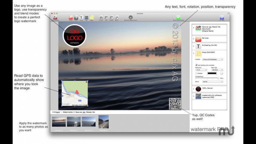 watermark PRO for Mac - review, screenshots