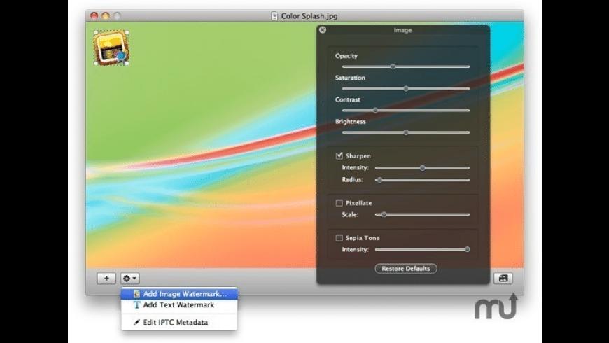 WatermarkSpell for Mac - review, screenshots