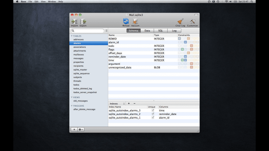 Base for Mac - review, screenshots