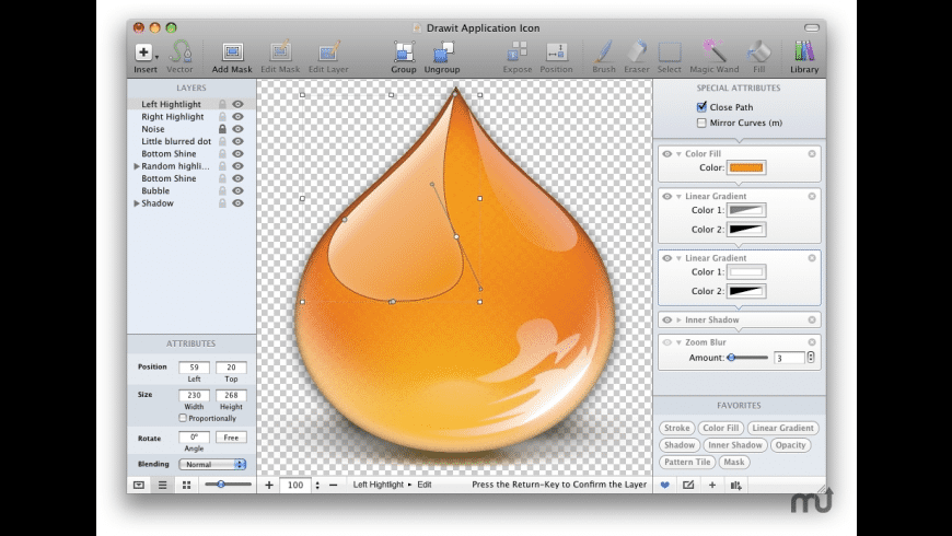 DrawIt for Mac - review, screenshots