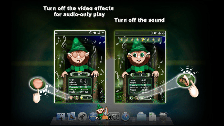 MetroGnome for Mac - review, screenshots
