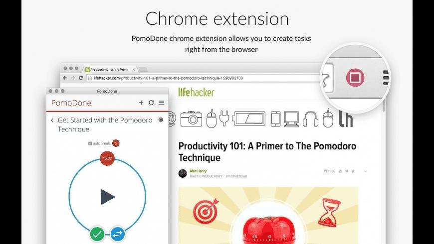 PomoDoneApp for Mac - review, screenshots