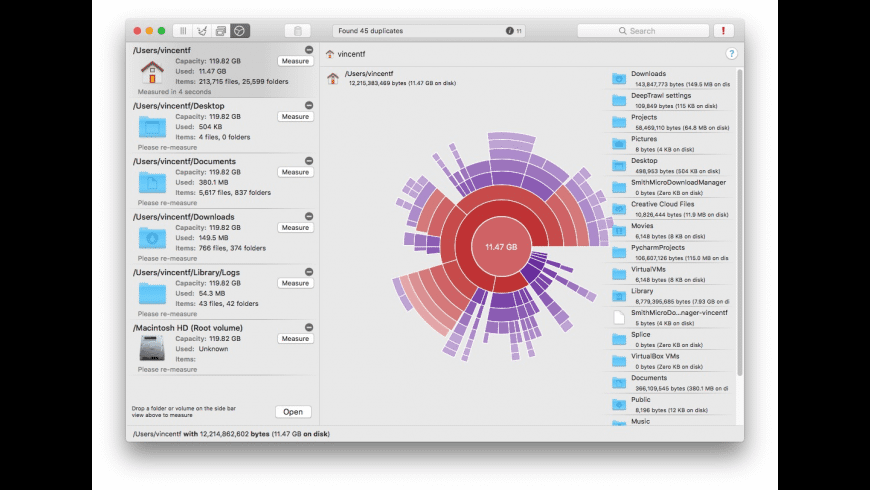 WhatSize for Mac - review, screenshots
