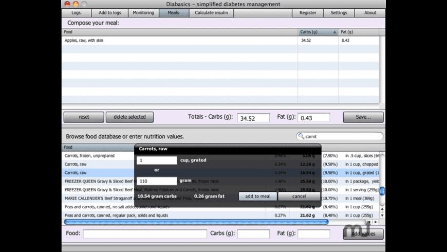 diabasics for Mac - review, screenshots