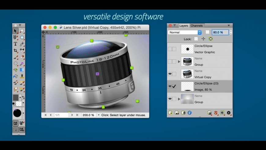 PhotoLine for Mac - review, screenshots