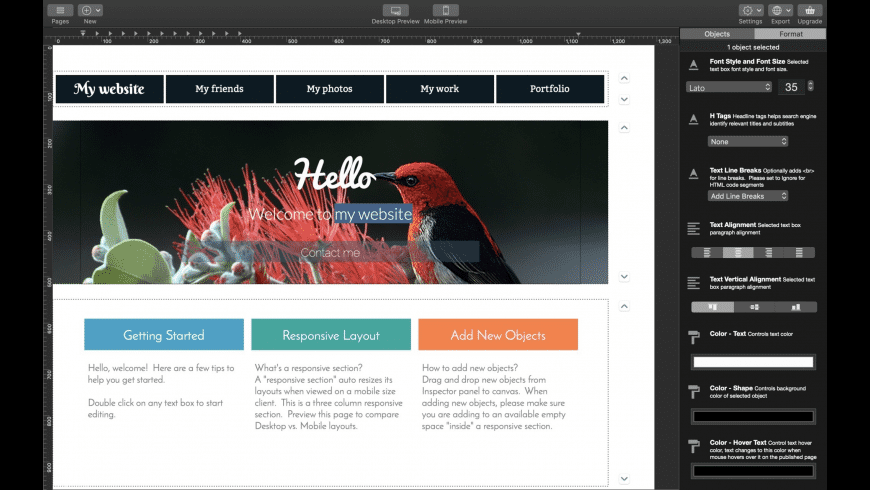 Wolf for Mac - review, screenshots