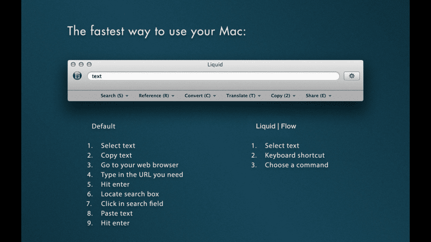 Liquid for Mac - review, screenshots