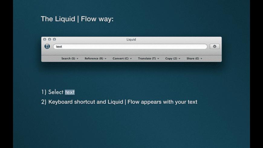 Liquid for Mac - review, screenshots