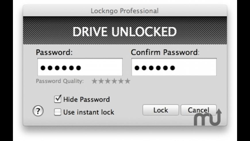 Lockngo for Mac - review, screenshots
