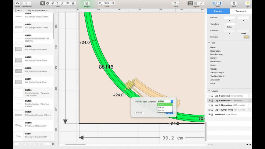 RailModeller Express for Mac - review, screenshots