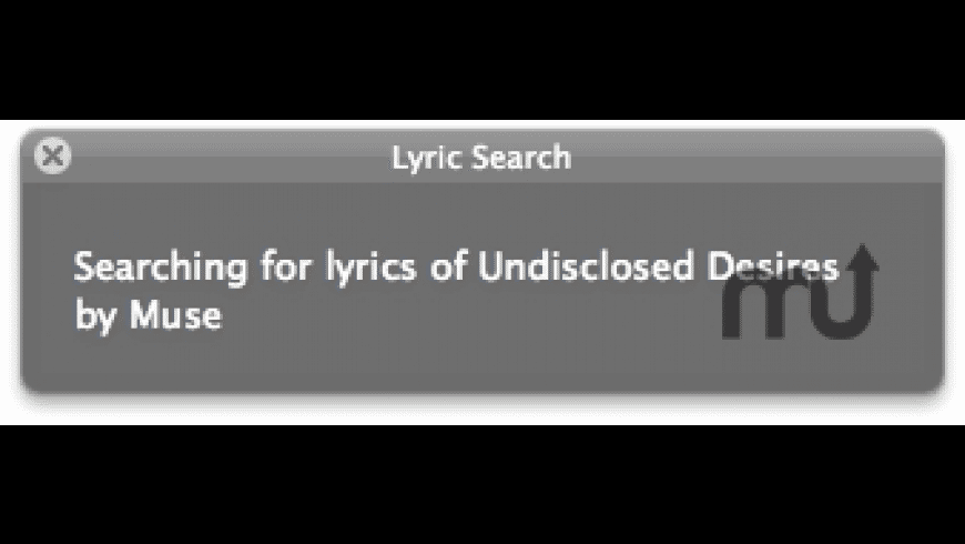 Lyric Search for Mac - review, screenshots