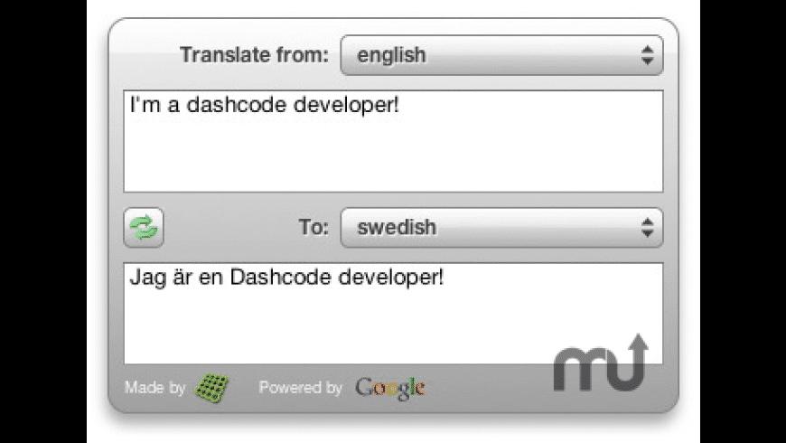 Translate'em for Mac - review, screenshots