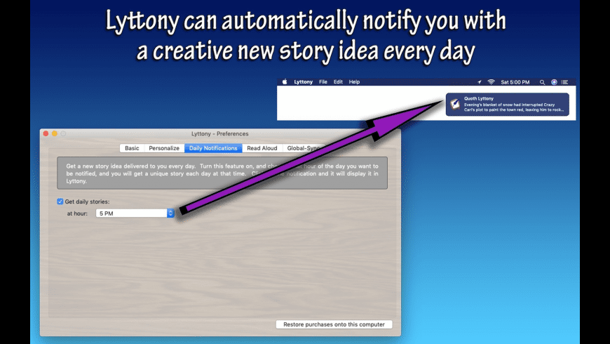 Lyttony for Mac - review, screenshots