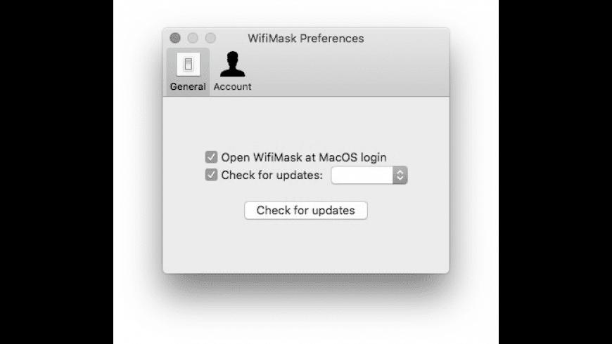 WifiMask for Mac - review, screenshots