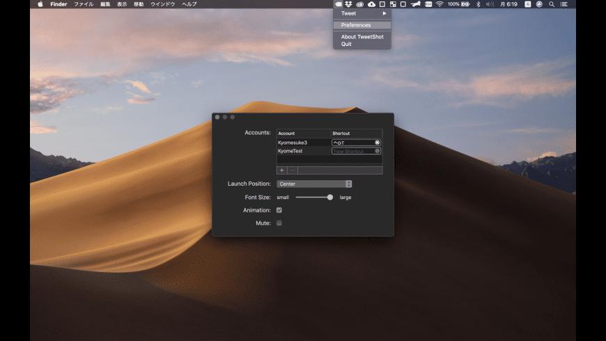 TweetShot for Mac - review, screenshots