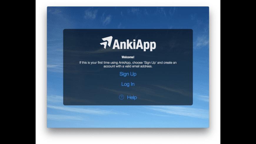 AnkiApp for Mac - review, screenshots