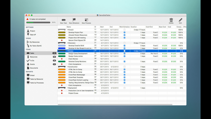 xPlan for Mac - review, screenshots