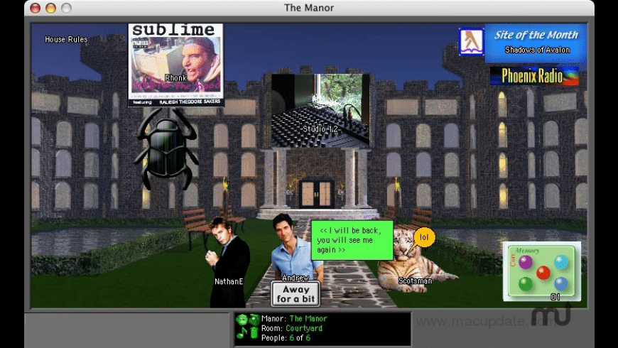 The Manor for Mac - review, screenshots