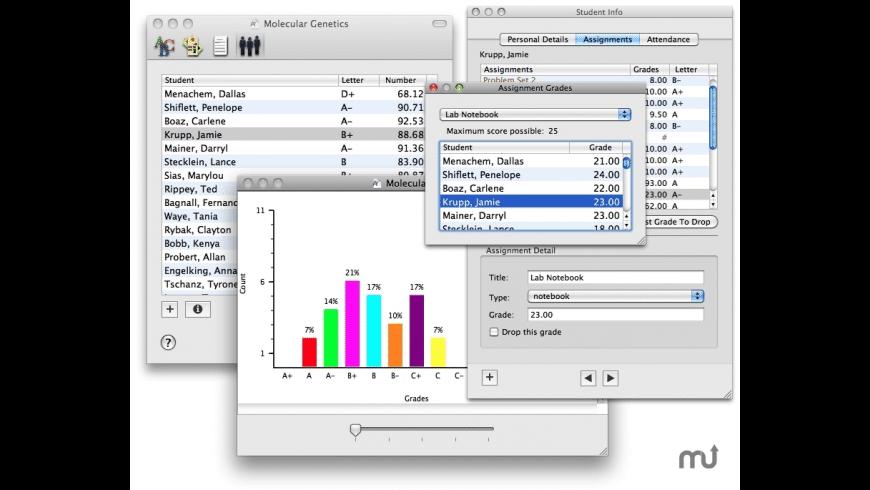 XGrader for Mac - review, screenshots