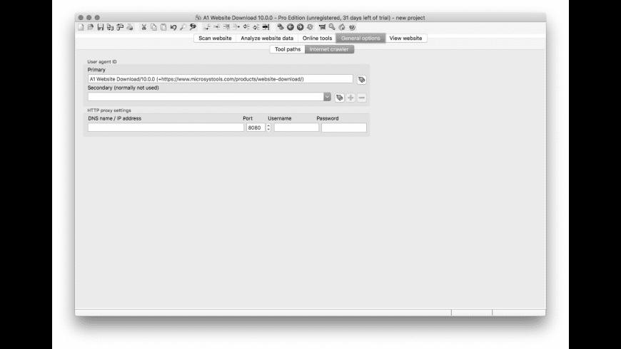 A1 Website Download for Mac - review, screenshots