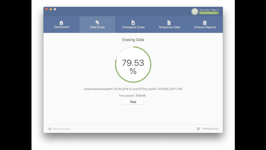 iShredder Mac for Mac - review, screenshots