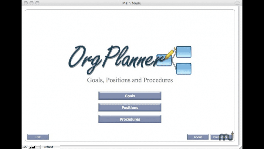 OrgPlanner for Mac - review, screenshots