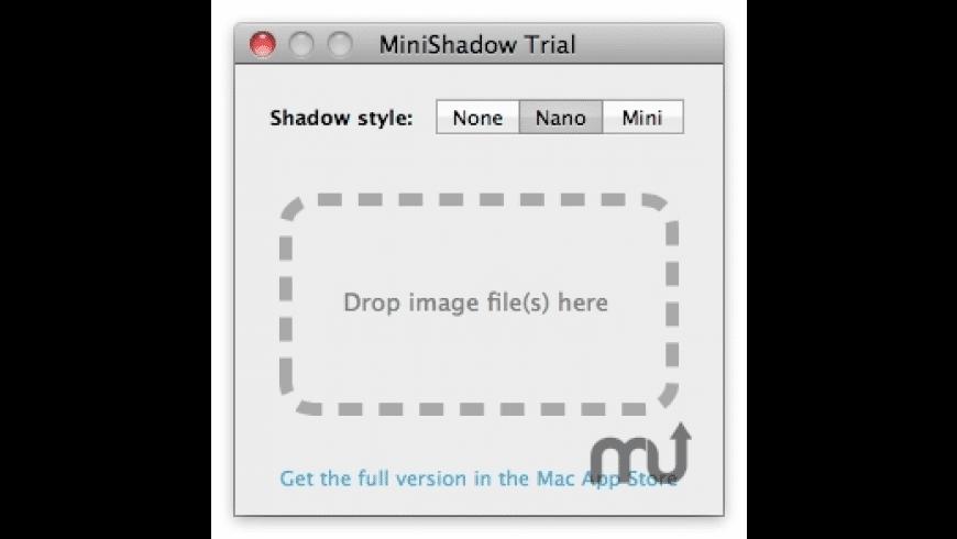 MiniShadow for Mac - review, screenshots