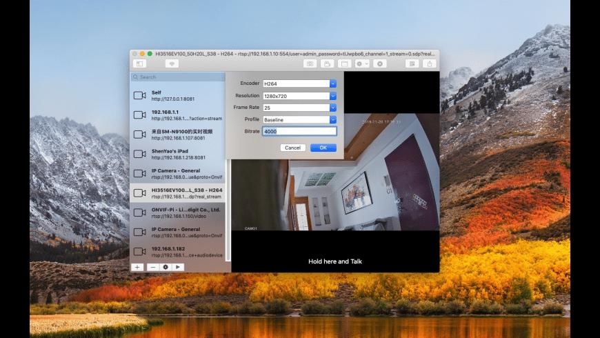 IP Camera for Mac - review, screenshots