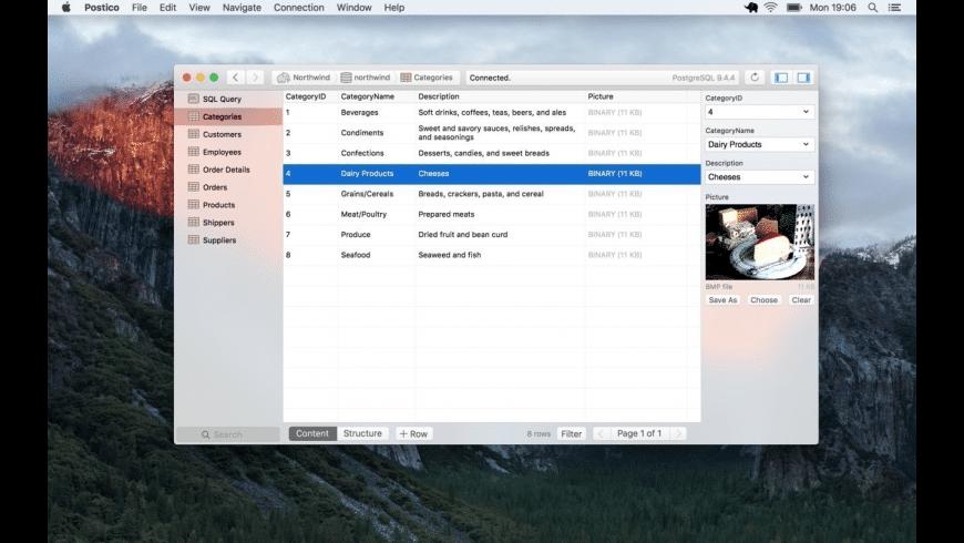 Postico for Mac - review, screenshots