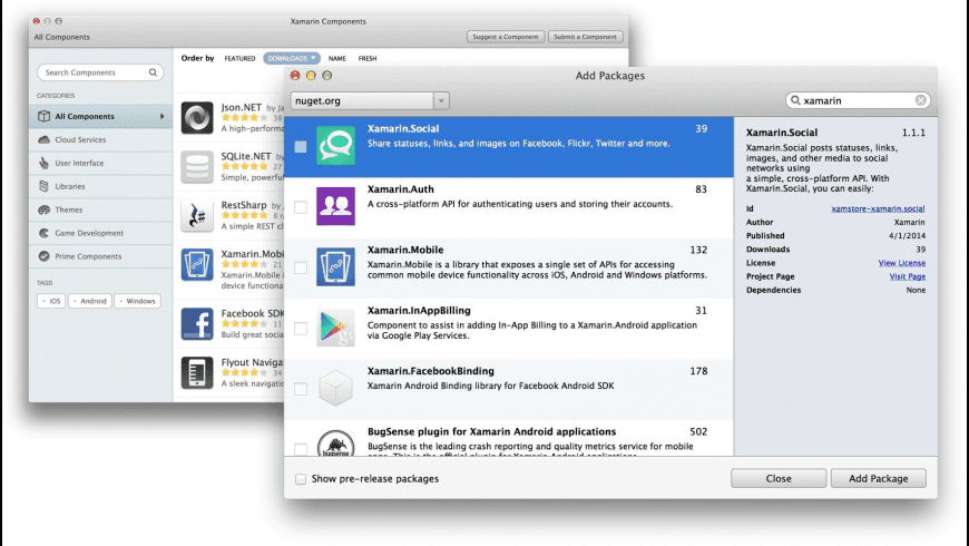 Xamarin Studio for Mac - review, screenshots