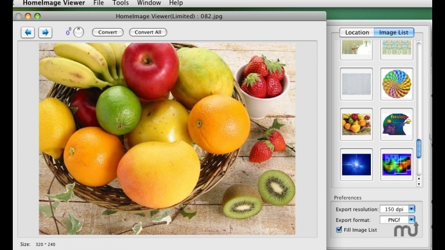 Home Image Viewer and Converter for Mac - review, screenshots