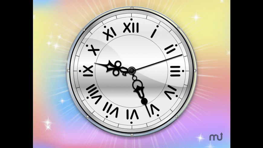 Color Therapy Clock for Mac - review, screenshots