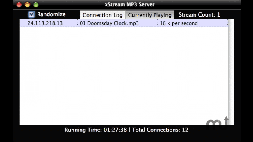 xStream MP3 Server for Mac - review, screenshots