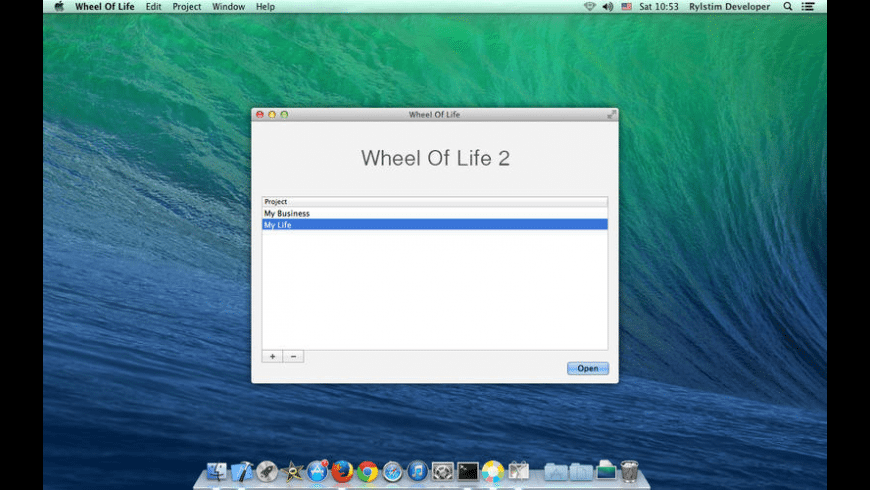 Wheel Of Life for Mac - review, screenshots