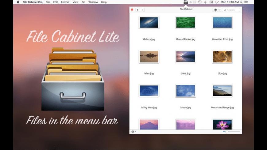 File Cabinet Lite for Mac - review, screenshots