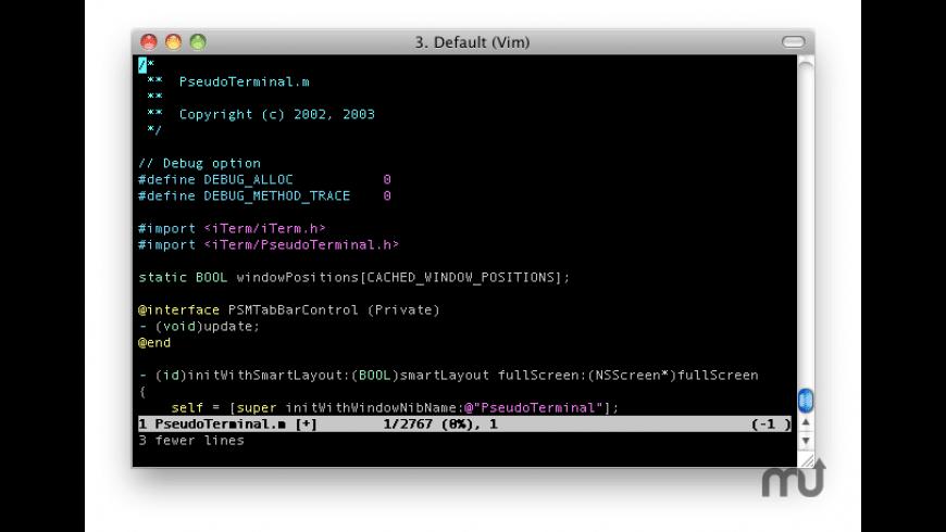 iTerm for Mac - review, screenshots