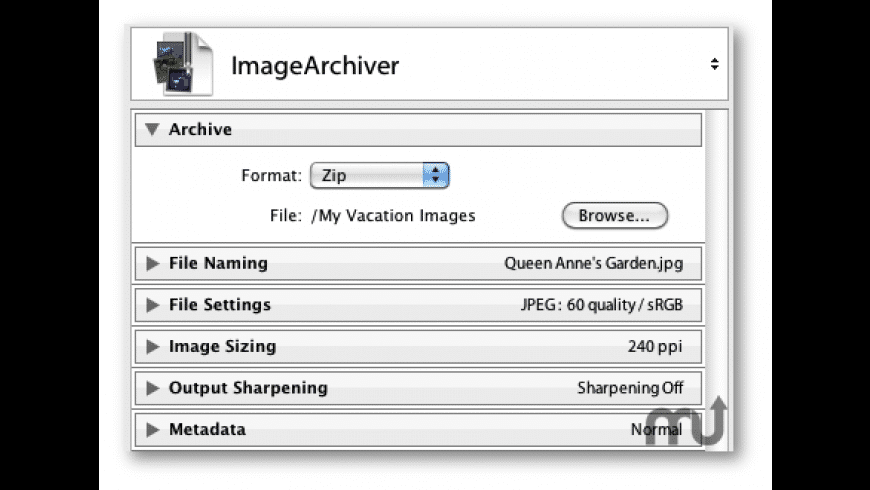 ImageArchiver for Lightroom for Mac - review, screenshots