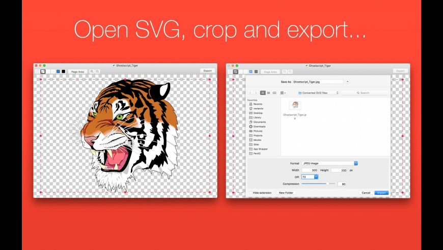 SVG Converter for Mac - review, screenshots