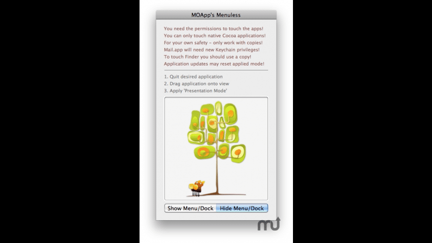 Menuless for Mac - review, screenshots