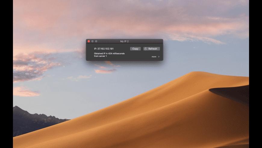 My IP for Mac - review, screenshots