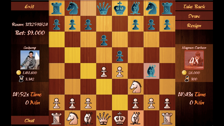 Chess Online for Mac - review, screenshots