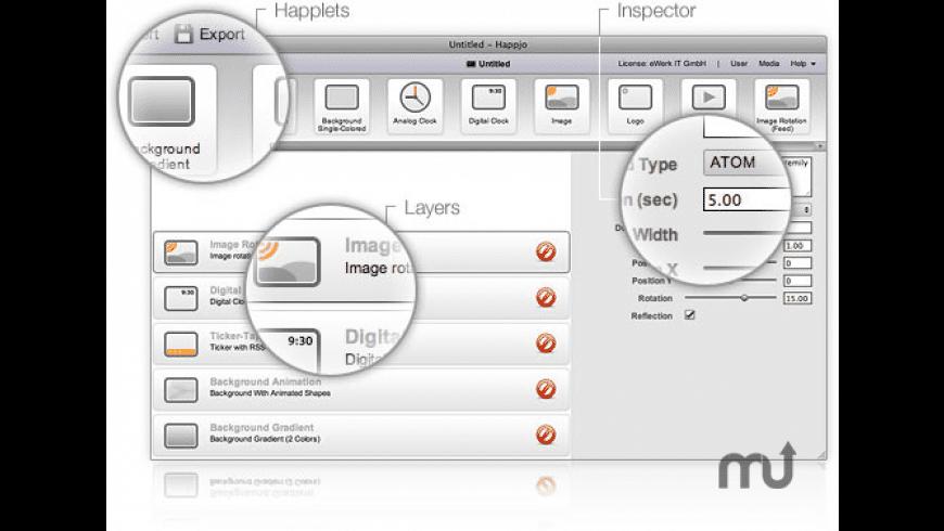 Happjo for Mac - review, screenshots