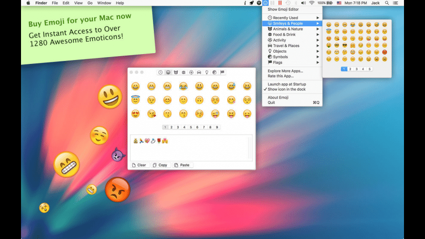Emoji for Mac - review, screenshots
