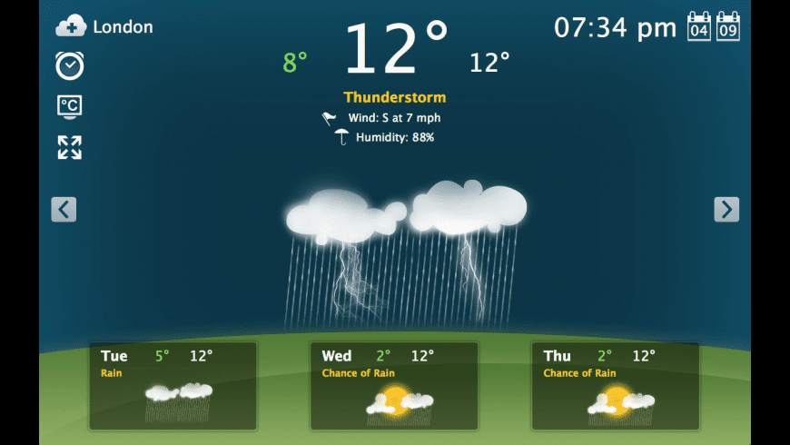 Weather for Mac - review, screenshots