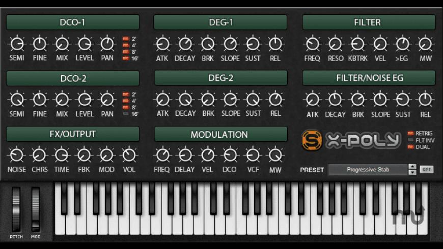 X-poly for Mac - review, screenshots