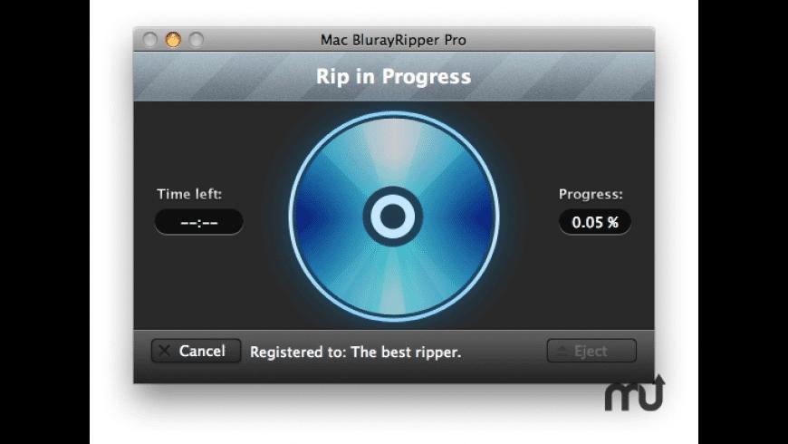 Mac BlurayRipper Pro for Mac - review, screenshots