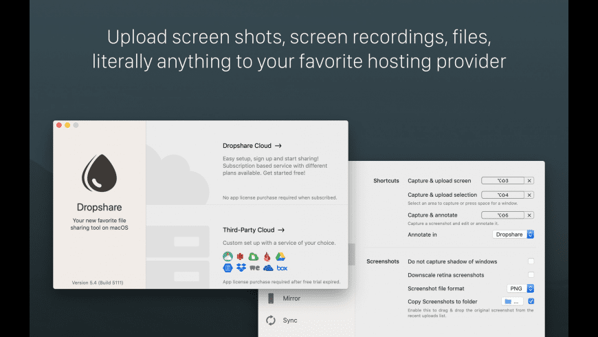 Dropshare for Mac - review, screenshots