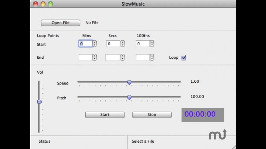 SlowMusic for Mac - review, screenshots