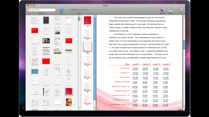 Clerk for Mac - review, screenshots